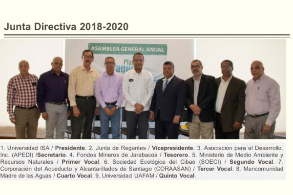 Junta Directiva 2018-2020 Yaque del Norte