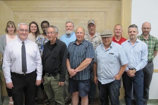 Board members and project partners, Annual General Meeting 2018, June 20, 2018
